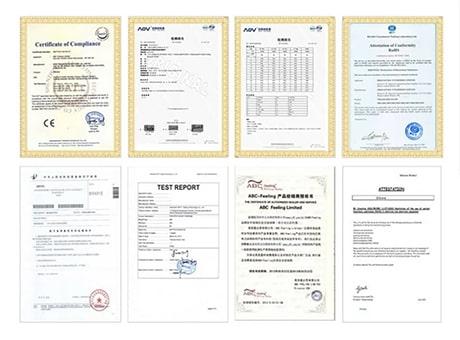 Вибратор сертифицирован