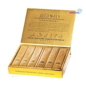 Женский возбудитель-Gold Fly 12 пакетиков