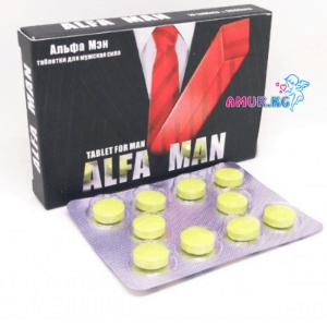 Мужские таблетки Alfa Man ВЗ25