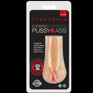 Мастурбатор CyberSkin® CyberStroker Pussy and As
