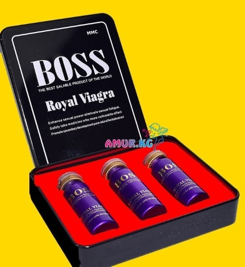 Мужской возбудитель-Boss Royal Viagra W4