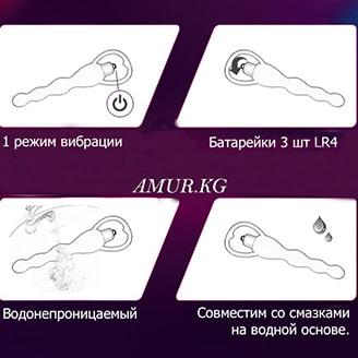 Характеристики анальной игрушки